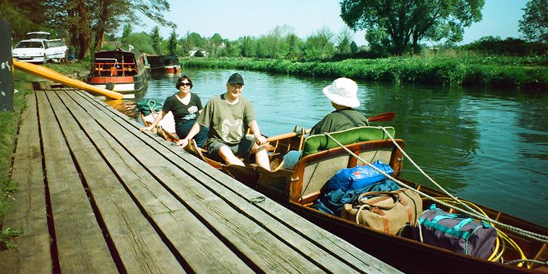 Crusader Travel Rowing Boat holiday Thames UK